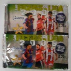 Cromos de Fútbol: LOTE DE 5 SOBRES SIN ABRIR 2009. Lote 228568760