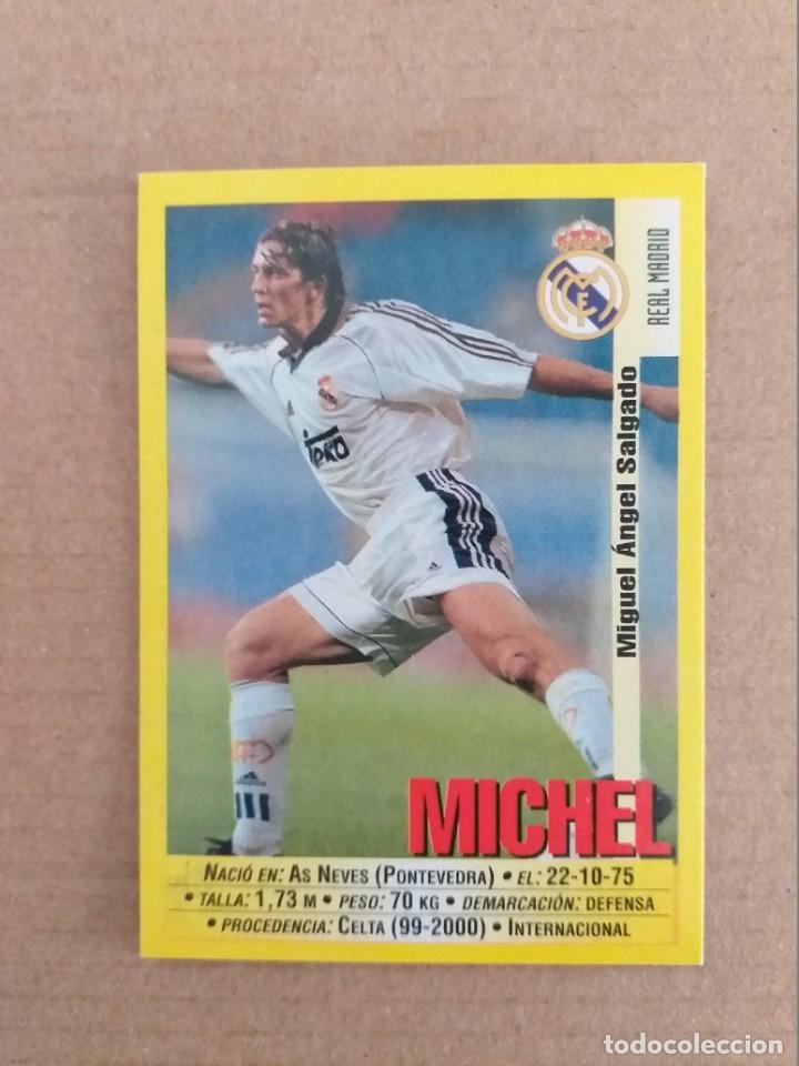 PANINI SPORTS - LIGA 1999 2000 - 99 00 - (22) REAL MADRID - MICHEL - SIN PEGAR (Coleccionismo Deportivo - Álbumes y Cromos de Deportes - Cromos de Fútbol)