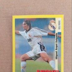 Cromos de Fútbol: PANINI SPORTS - LIGA 1999 2000 - 99 00 - (22) REAL MADRID - MICHEL - SIN PEGAR. Lote 228739340