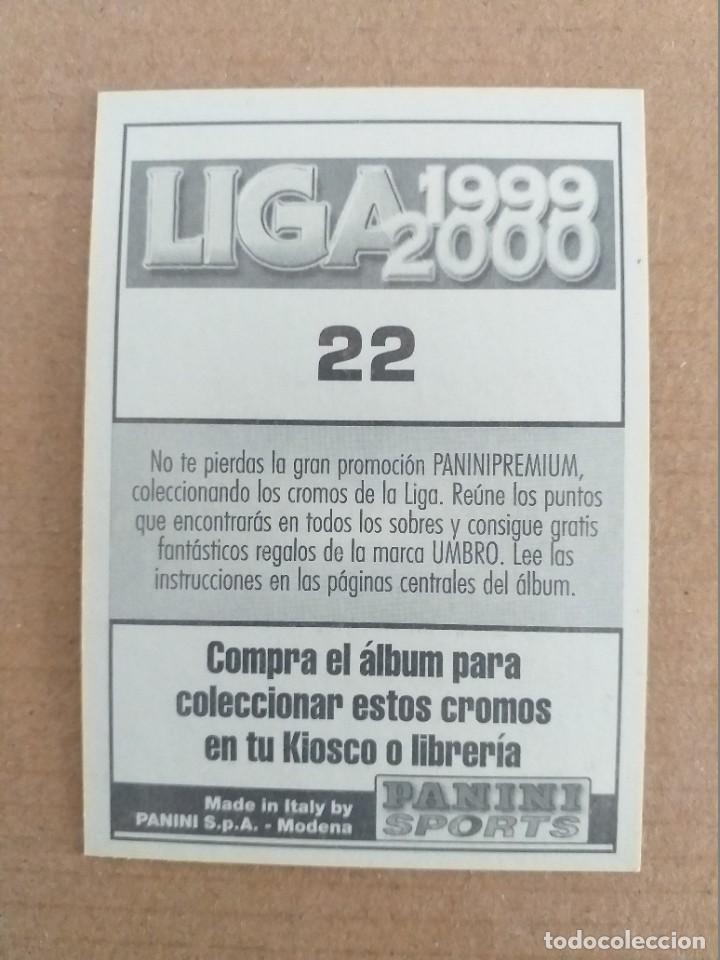 Cromos de Fútbol: PANINI SPORTS - LIGA 1999 2000 - 99 00 - (22) REAL MADRID - MICHEL - SIN PEGAR - Foto 2 - 228739340