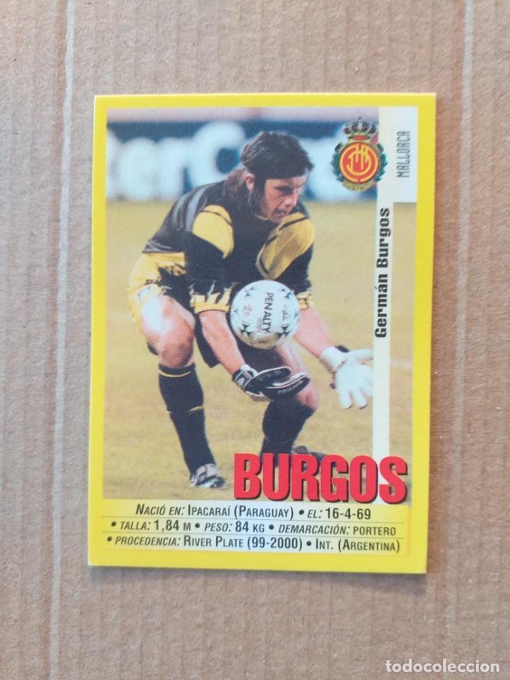 PANINI SPORTS - LIGA 1999 2000 - 99 00 - (40A) MALLORCA - BURGOS - SIN PEGAR (Coleccionismo Deportivo - Álbumes y Cromos de Deportes - Cromos de Fútbol)