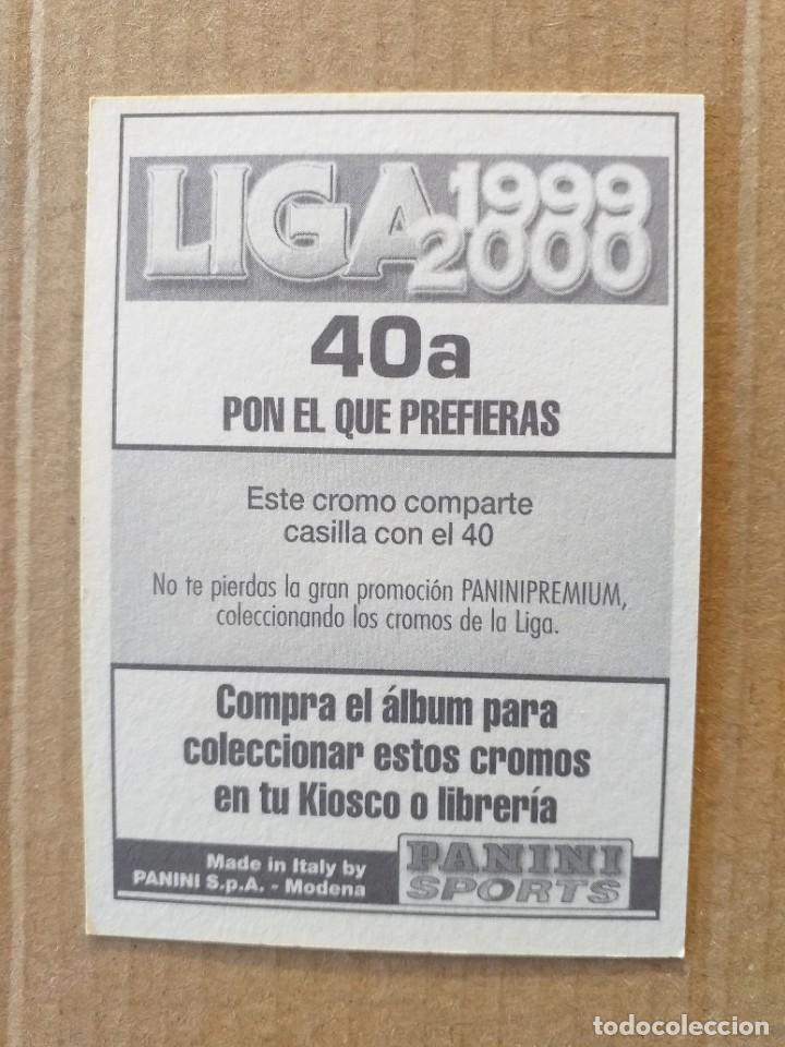 Cromos de Fútbol: PANINI SPORTS - LIGA 1999 2000 - 99 00 - (40a) MALLORCA - BURGOS - SIN PEGAR - Foto 2 - 228740895