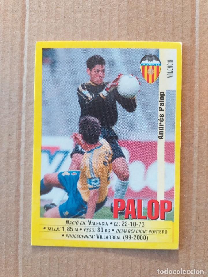PANINI SPORTS - LIGA 1999 2000 - 99 00 - (76A) VALENCIA - PALOP - SIN PEGAR (Coleccionismo Deportivo - Álbumes y Cromos de Deportes - Cromos de Fútbol)