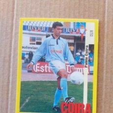 Cromos de Fútbol: PANINI SPORTS - LIGA 1999 2000 - 99 00 - (79A) CELTA - COIRA - SIN PEGAR. Lote 228742355