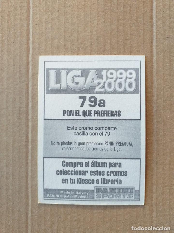 Cromos de Fútbol: PANINI SPORTS - LIGA 1999 2000 - 99 00 - (79a) CELTA - COIRA - SIN PEGAR - Foto 2 - 228742355