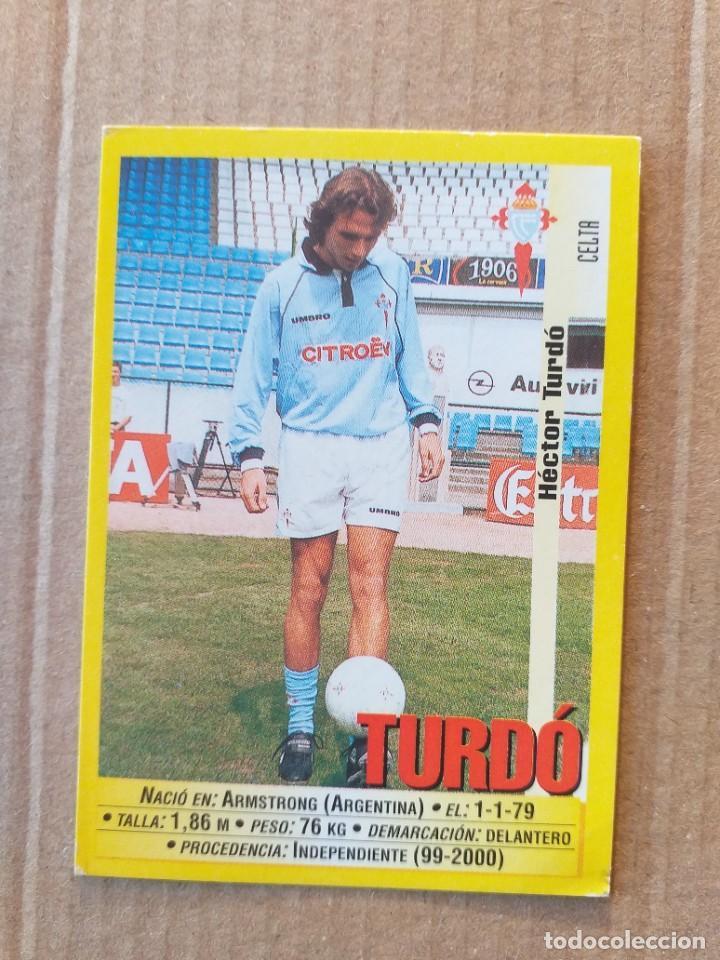 PANINI SPORTS - LIGA 1999 2000 - 99 00 - (94A) CELTA - TURDO - SIN PEGAR (Coleccionismo Deportivo - Álbumes y Cromos de Deportes - Cromos de Fútbol)