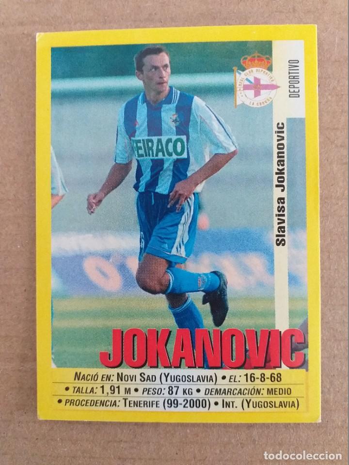 PANINI SPORTS - LIGA 1999 2000 - 99 00 - (104A) DEPORTIVO - JOKANOVIC - SIN PEGAR (Coleccionismo Deportivo - Álbumes y Cromos de Deportes - Cromos de Fútbol)