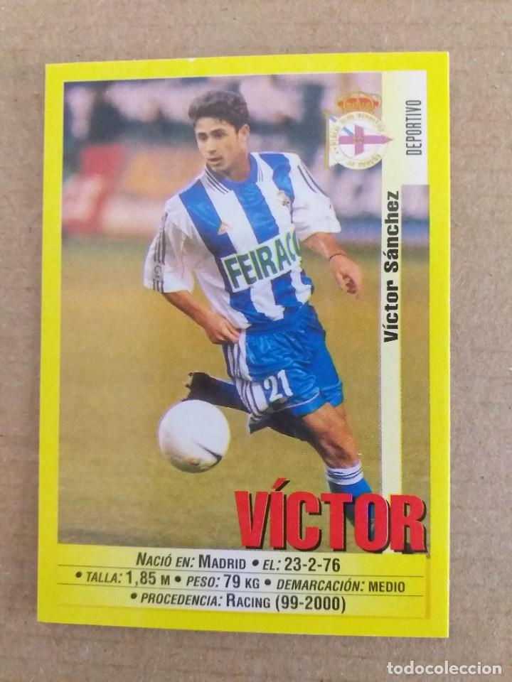 PANINI SPORTS - LIGA 1999 2000 - 99 00 - (109) DEPORTIVO - VICTOR (1A IMAGEN) - SIN PEGAR (Coleccionismo Deportivo - Álbumes y Cromos de Deportes - Cromos de Fútbol)