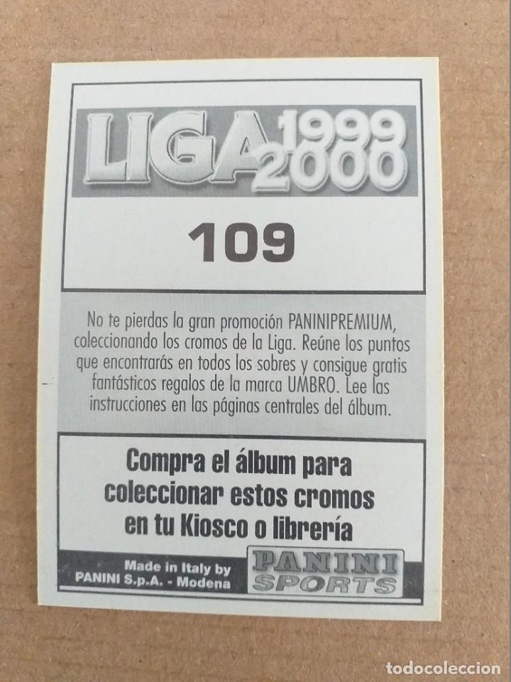 Cromos de Fútbol: PANINI SPORTS - LIGA 1999 2000 - 99 00 - (109) DEPORTIVO - VICTOR (1A IMAGEN) - SIN PEGAR - Foto 2 - 228743545