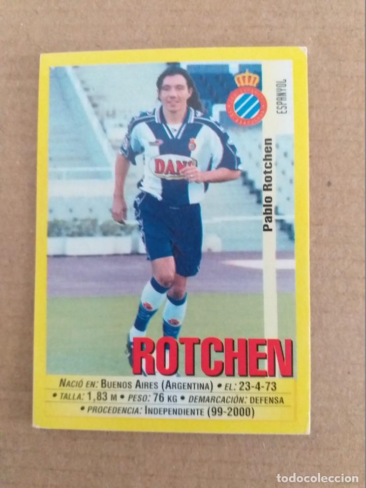 PANINI SPORTS - LIGA 1999 2000 - 99 00 - (119A) ESPANYOL - ROTCHEN - SIN PEGAR (Coleccionismo Deportivo - Álbumes y Cromos de Deportes - Cromos de Fútbol)