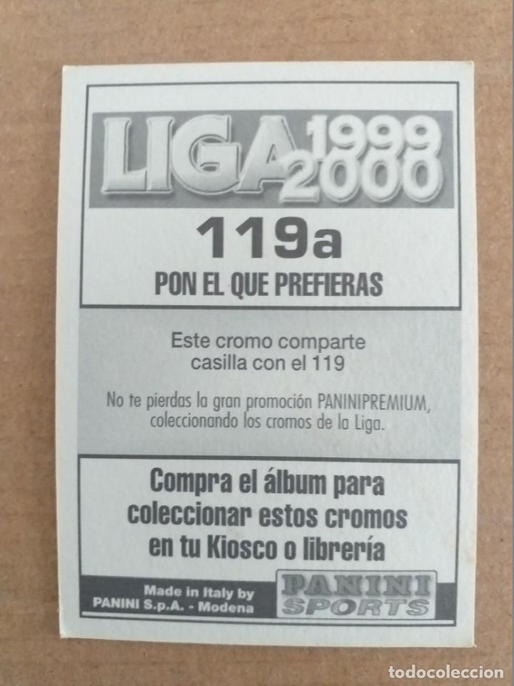 Cromos de Fútbol: PANINI SPORTS - LIGA 1999 2000 - 99 00 - (119a) ESPANYOL - ROTCHEN - SIN PEGAR - Foto 2 - 228743750