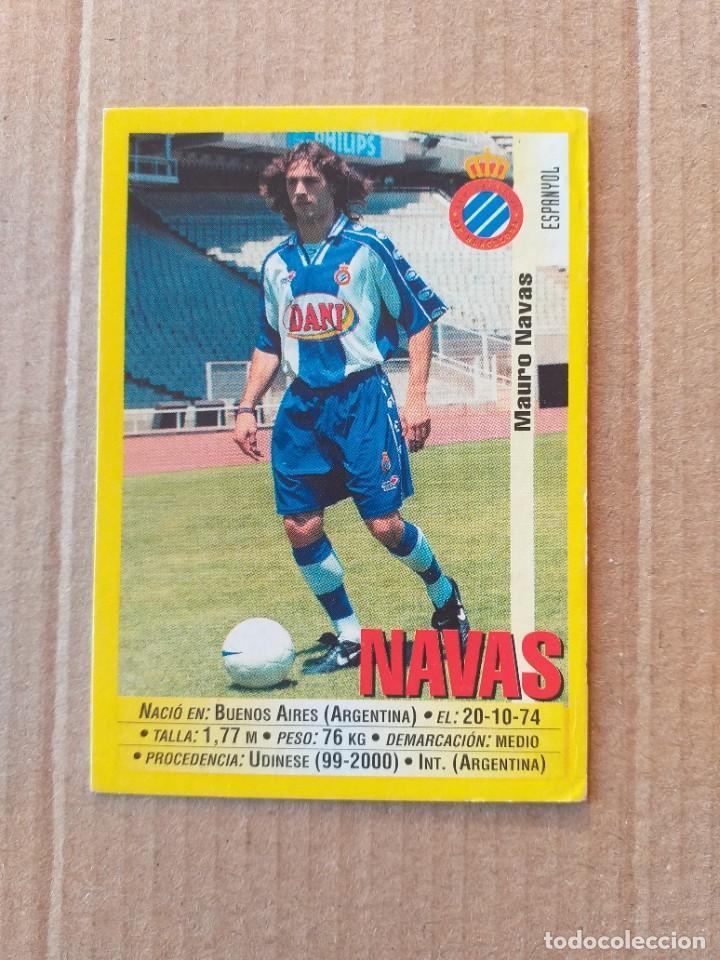 PANINI SPORTS - LIGA 1999 2000 - 99 00 - (122A) ESPANYOL - NAVAS - SIN PEGAR (Coleccionismo Deportivo - Álbumes y Cromos de Deportes - Cromos de Fútbol)