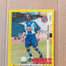 Cromos de Fútbol: PANINI SPORTS - LIGA 1999 2000 - 99 00 - (122A) ESPANYOL - NAVAS - SIN PEGAR. Lote 228744025