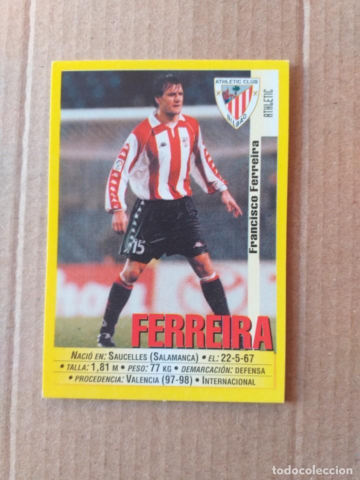PANINI SPORTS - LIGA 1999 2000 - 99 00 - (139A) ATLETIC - FERREIRA - SIN PEGAR (Coleccionismo Deportivo - Álbumes y Cromos de Deportes - Cromos de Fútbol)