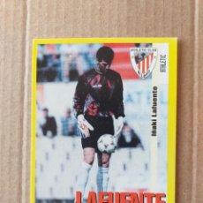 Cromos de Fútbol: PANINI SPORTS - LIGA 1999 2000 - 99 00 - (152A) ATHLETIC - LAFUENTE - SIN PEGAR. Lote 228744850