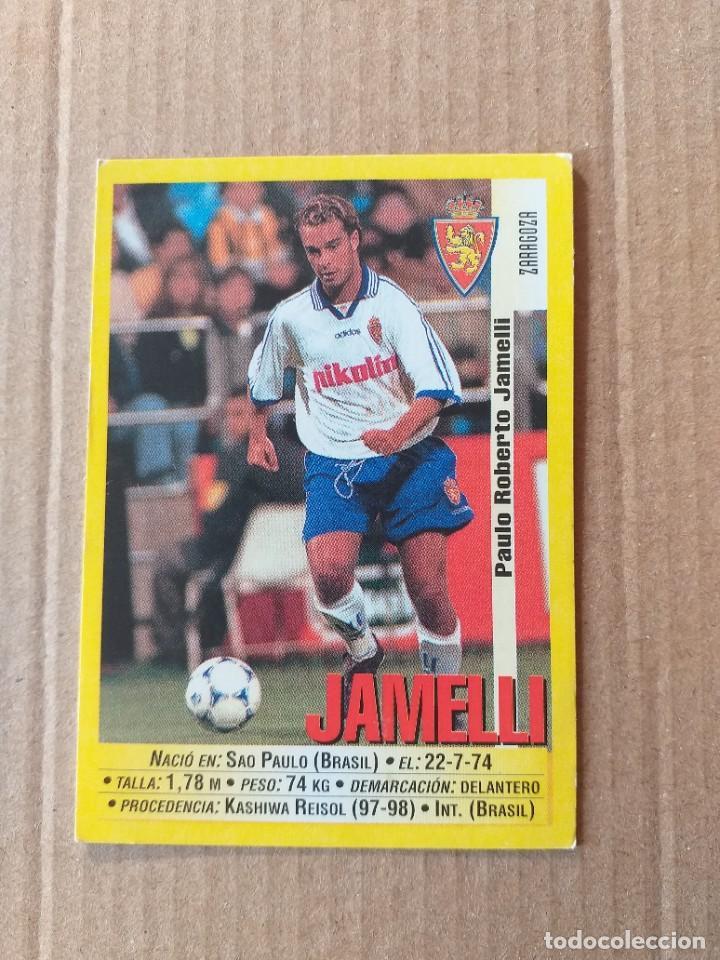 PANINI SPORTS - LIGA 1999 2000 - 99 00 - (168A) ZARAGOZA - JAMELLI - SIN PEGAR (Coleccionismo Deportivo - Álbumes y Cromos de Deportes - Cromos de Fútbol)