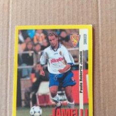 Cromos de Fútbol: PANINI SPORTS - LIGA 1999 2000 - 99 00 - (168A) ZARAGOZA - JAMELLI - SIN PEGAR. Lote 228745355