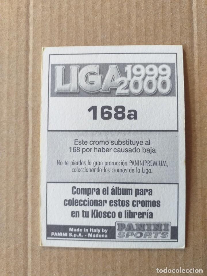 Cromos de Fútbol: PANINI SPORTS - LIGA 1999 2000 - 99 00 - (168a) ZARAGOZA - JAMELLI - SIN PEGAR - Foto 2 - 228745355