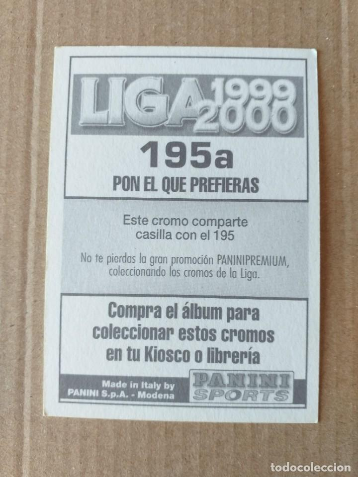 Cromos de Fútbol: PANINI SPORTS - LIGA 1999 2000 - 99 00 - (195a) BETIS - KARHAN - SIN PEGAR - Foto 2 - 228745737