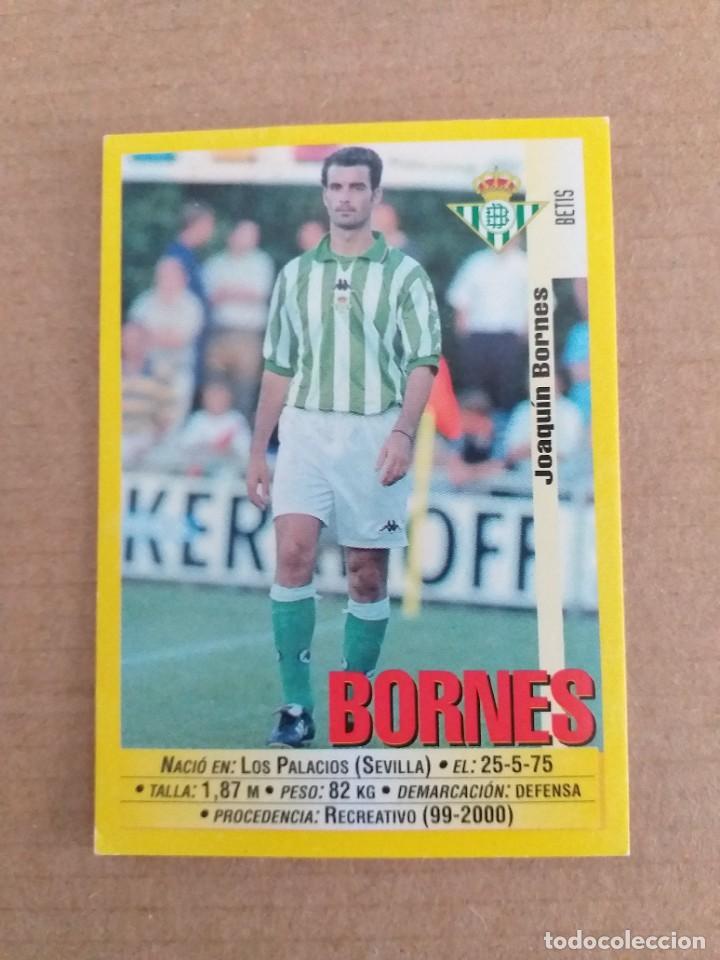 PANINI SPORTS - LIGA 1999 2000 - 99 00 - (196A) BETIS - BORNES - SIN PEGAR (Coleccionismo Deportivo - Álbumes y Cromos de Deportes - Cromos de Fútbol)