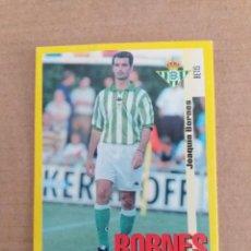 Cromos de Fútbol: PANINI SPORTS - LIGA 1999 2000 - 99 00 - (196A) BETIS - BORNES - SIN PEGAR. Lote 228745930