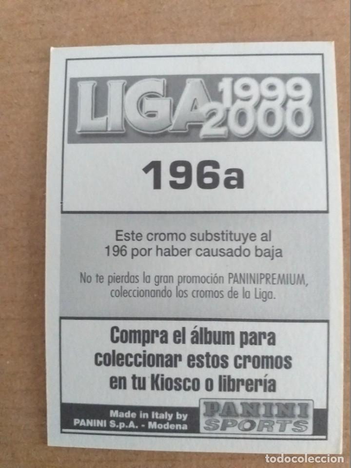 Cromos de Fútbol: PANINI SPORTS - LIGA 1999 2000 - 99 00 - (196a) BETIS - BORNES - SIN PEGAR - Foto 2 - 228745930