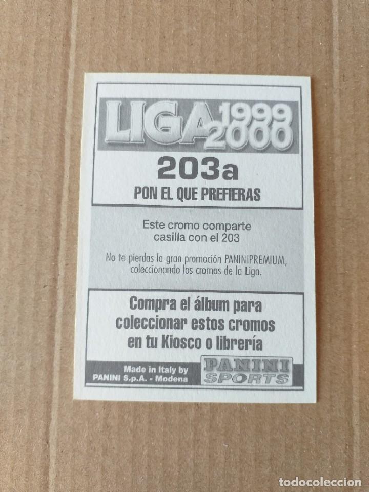 Cromos de Fútbol: PANINI SPORTS - LIGA 1999 2000 - 99 00 - (203a) BETIS - JUAN JESUS - SIN PEGAR - Foto 2 - 228746395