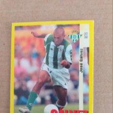 Cromos de Fútbol: PANINI SPORTS - LIGA 1999 2000 - 99 00 - (208A) BETIS - GALVEZ - SIN PEGAR. Lote 228746690