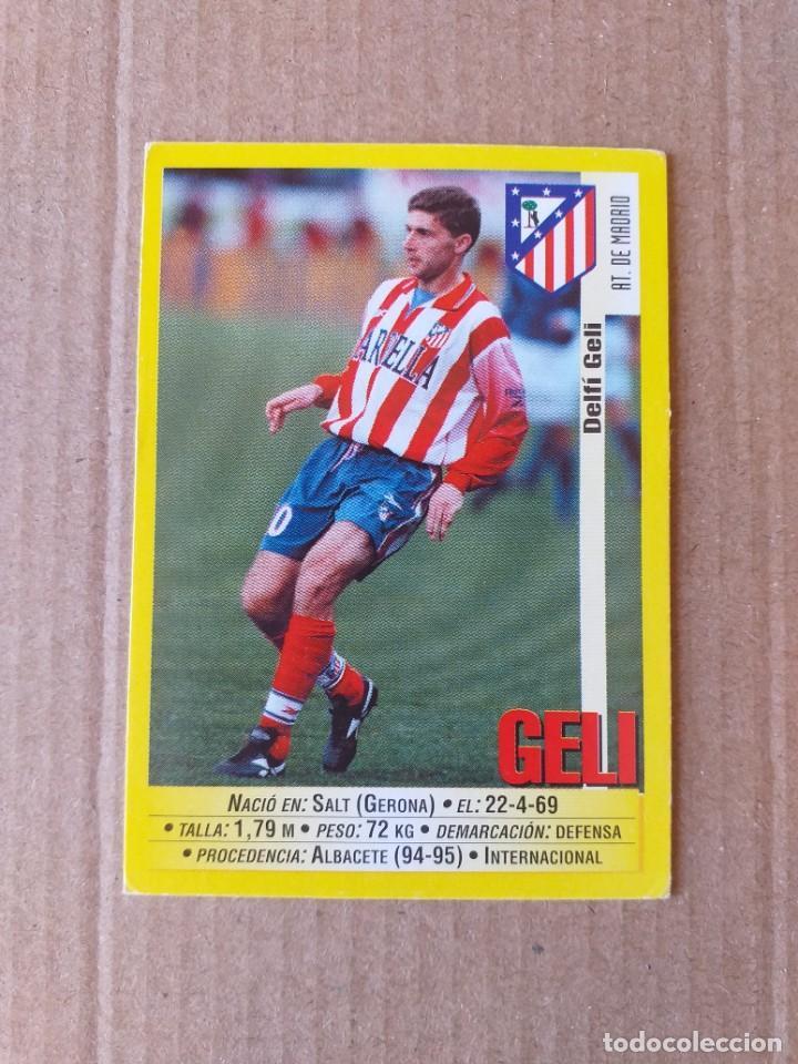 PANINI SPORTS - LIGA 1999 2000 - 99 00 - (231A) AT. MADRID - GELI - SIN PEGAR (Coleccionismo Deportivo - Álbumes y Cromos de Deportes - Cromos de Fútbol)