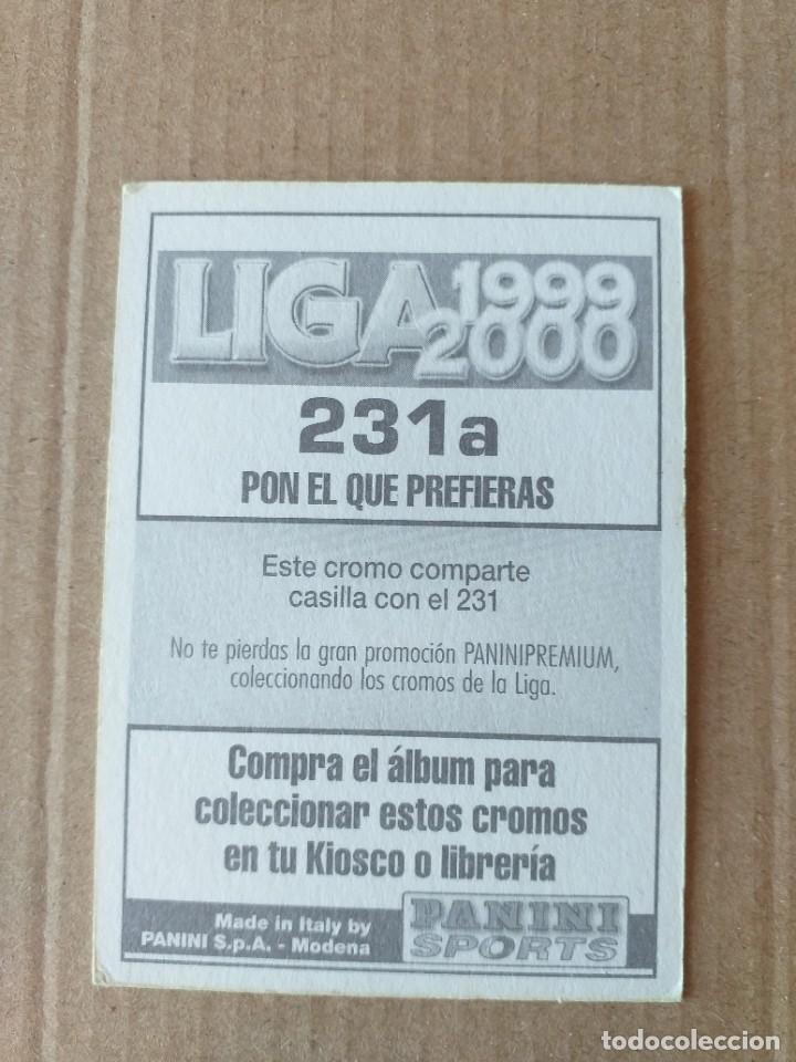 Cromos de Fútbol: PANINI SPORTS - LIGA 1999 2000 - 99 00 - (231a) AT. MADRID - GELI - SIN PEGAR - Foto 2 - 228746965