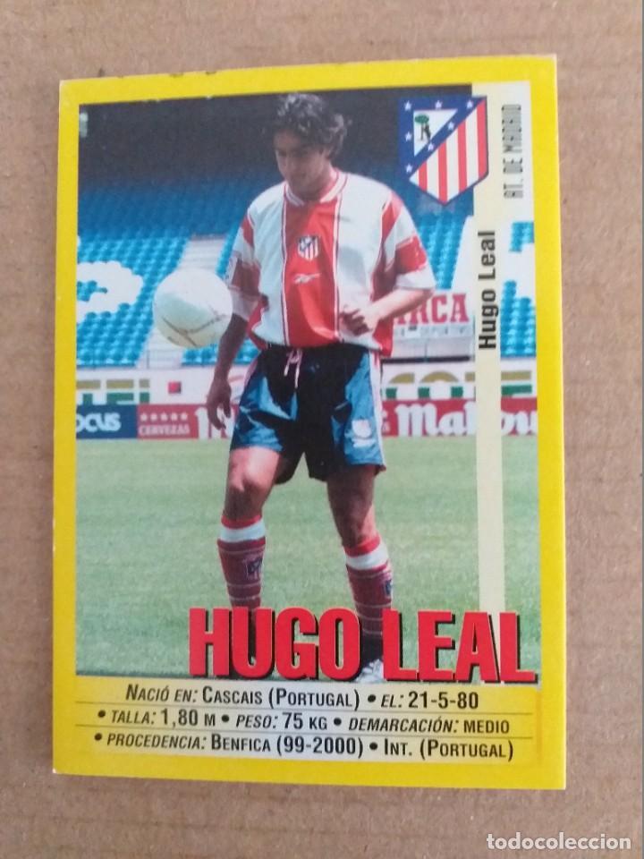 PANINI SPORTS - LIGA 1999 2000 - 99 00 - (240A) AT. MADRID - HUGO LEAL - SIN PEGAR (Coleccionismo Deportivo - Álbumes y Cromos de Deportes - Cromos de Fútbol)