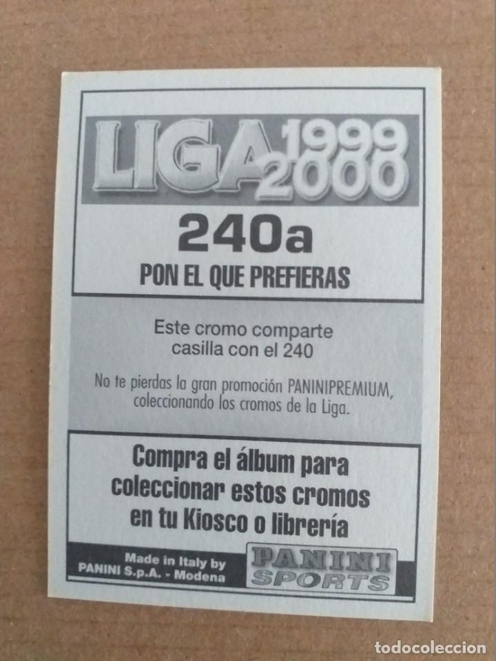 Cromos de Fútbol: PANINI SPORTS - LIGA 1999 2000 - 99 00 - (240a) AT. MADRID - HUGO LEAL - SIN PEGAR - Foto 2 - 228781365