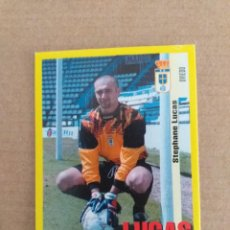 Cromos de Fútbol: PANINI SPORTS - LIGA 1999 2000 - 99 00 - (266A) OVIEDO - LUCAS - SIN PEGAR. Lote 228782737