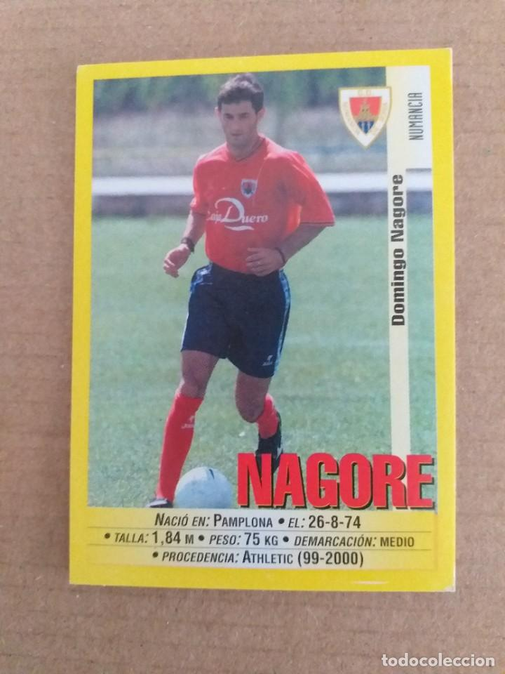PANINI SPORTS - LIGA 1999 2000 - 99 00 - (331A) NUMANCIA - NAGORE - SIN PEGAR (Coleccionismo Deportivo - Álbumes y Cromos de Deportes - Cromos de Fútbol)
