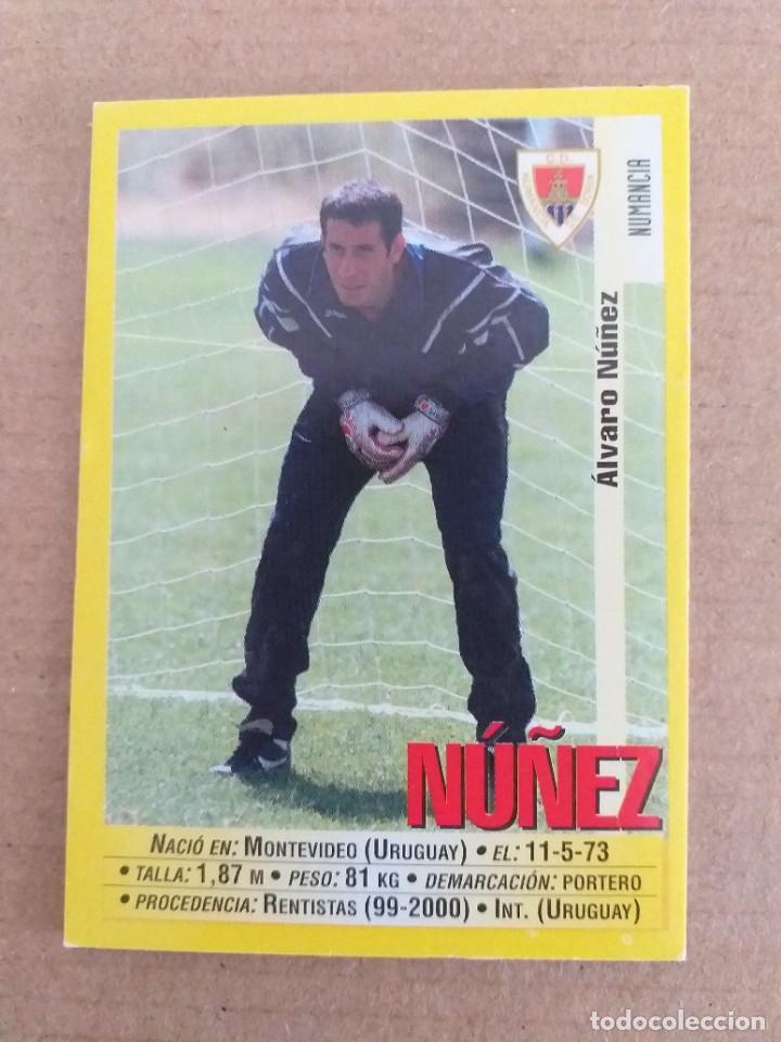 PANINI SPORTS - LIGA 1999 2000 - 99 00 - (342A) NUMANCIA - NUÑEZ - SIN PEGAR (Coleccionismo Deportivo - Álbumes y Cromos de Deportes - Cromos de Fútbol)