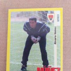 Cromos de Fútbol: PANINI SPORTS - LIGA 1999 2000 - 99 00 - (342A) NUMANCIA - NUÑEZ - SIN PEGAR. Lote 228784048