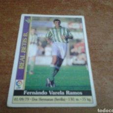Cromos de Fútbol: MUNDICROMO 2000 VARELA #530 ROOKIE BETIS. Lote 229055195