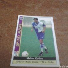 Cromos de Fútbol: MUNDICROMO 1999-2000 MEHO KODRO #286 ROOKIE DEPORTIVO ALAVÉS. Lote 229571515