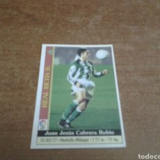 Cromos de Fútbol: MUNDICROMO 1999-2000 JUAN JESUS #453 ROOKIE REAL BETIS. Lote 229572470