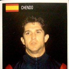 Cromos de Fútbol: 160 CHENDO - ESPAÑA - REAL MADRID - ORBIS WORLD CUP 1990 ITALIA 90 COPA DEL MUNDO. Lote 230083190