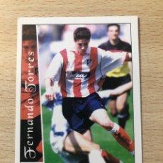 Cromos de Fútbol: # 481 FERNANDO TORRES ROOKIE CARD ATLÉTICO DE MADRID MUNDICROMO 2002 2003 , PERFECTO MINT CONDITION. Lote 230107660