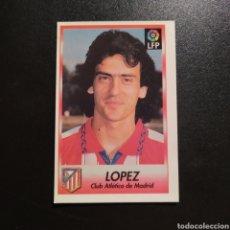 Cromos de Futebol: CROMO - Nº 146 - LOPEZ - ATLETICO MADRID - SIGUE LA LIGA! (1996 /1997) - BOLLYCAO. Lote 230241860