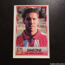 Cromos de Futebol: CROMO - Nº 150 - SIMEONE - ATLETICO MADRID - SIGUE LA LIGA! (1996 /1997) - BOLLYCAO. Lote 230241980