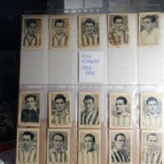 Cromos de Fútbol: CROMOS FUTBOL ATHLETIC DE BILBAO DEL ALBUM RUIZ ROMERO 52 53.. CON ZARRA. Lote 230258475