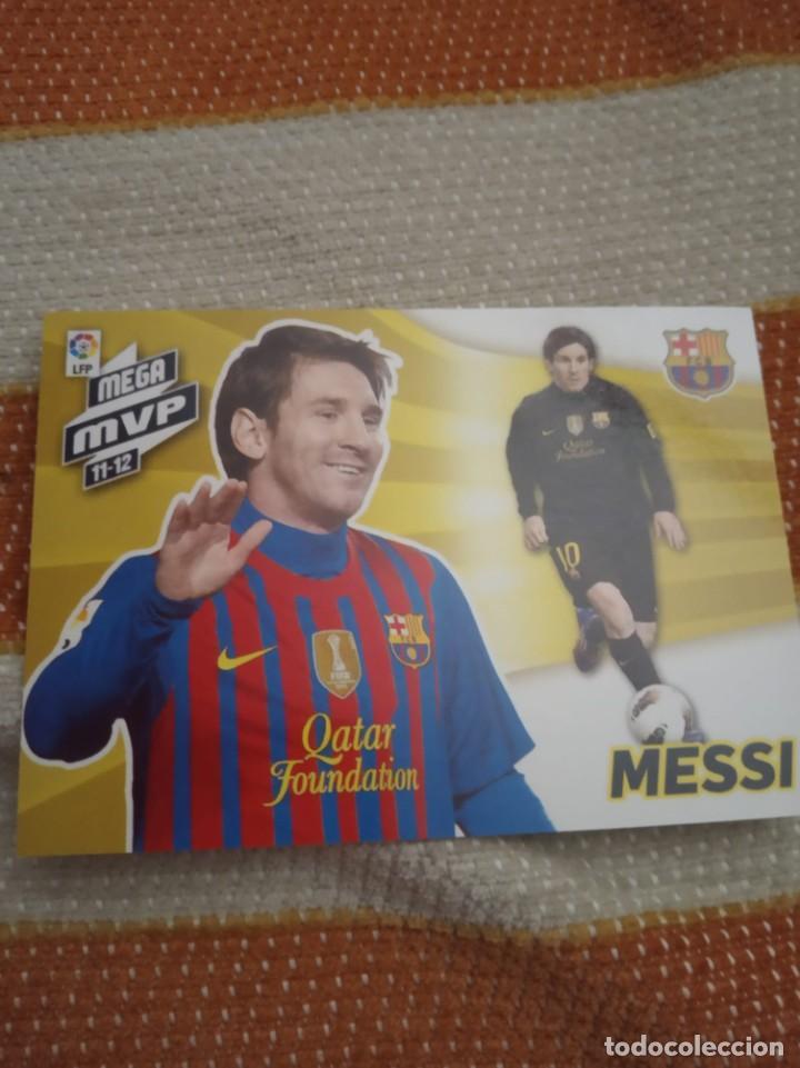 """CROMO MESSI MPV 2011/12 MEGACRACKS, """"NO ROOKIE"""" (Coleccionismo Deportivo - Álbumes y Cromos de Deportes - Cromos de Fútbol)"""