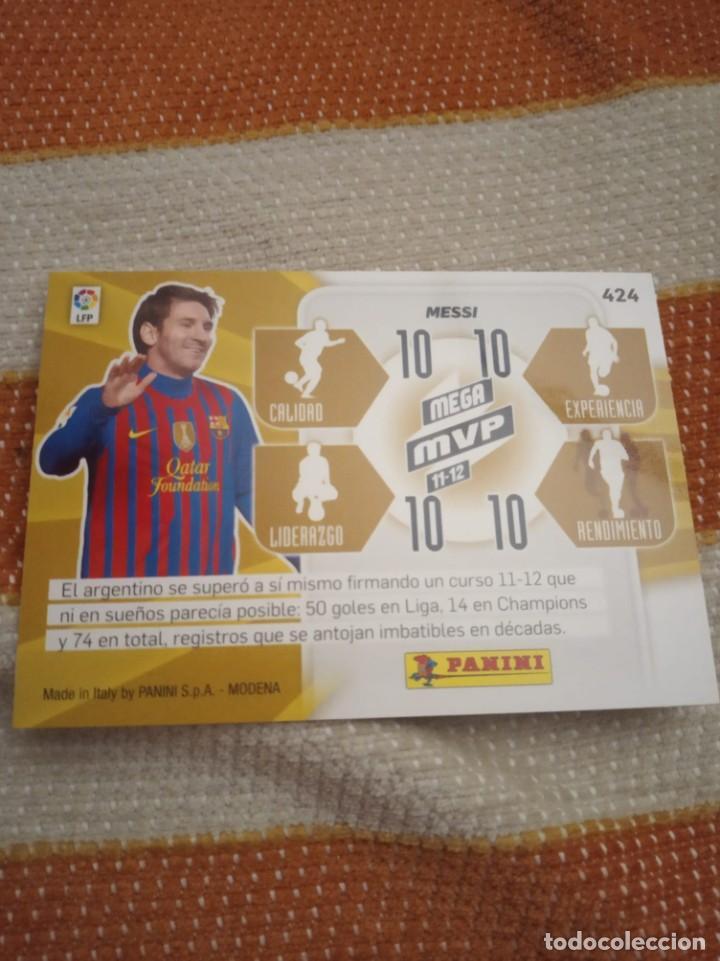 "Cromos de Fútbol: Cromo Messi MPV 2011/12 Megacracks, ""NO ROOKIE"" - Foto 2 - 230947275"