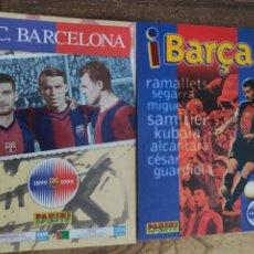 Cromos de Fútbol: LOTE DE CROMOS PANINI FC BARCELONA 1998/99. Lote 230989910