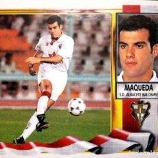 Cromos de Fútbol: MAQUEDA - SD ALBACETE BALOMPIE - EDICIONES ESTE LIGA 1995 1996 95 96 - SIN PEGAR. Lote 231216505
