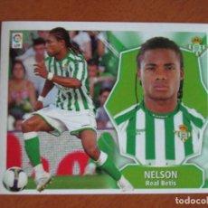 Cromos de Fútbol: #48 NELSON REAL BETIS ÚLTIMOS FICHAJES LIGA 08 09 EDICIONES ESTE 2008 2009 SIN PEGAR. Lote 231224675