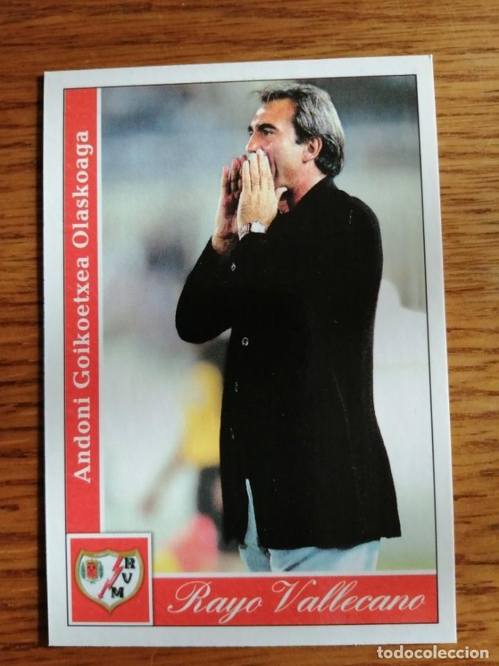 MUNDICROMO 2002. RAYO VALLECANO GOIKOETXEA NÚMERO 275 (Coleccionismo Deportivo - Álbumes y Cromos de Deportes - Cromos de Fútbol)